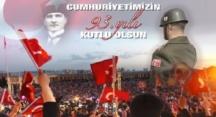 Cumhuriyetimizin 93. Yılı Kutlu Olsun