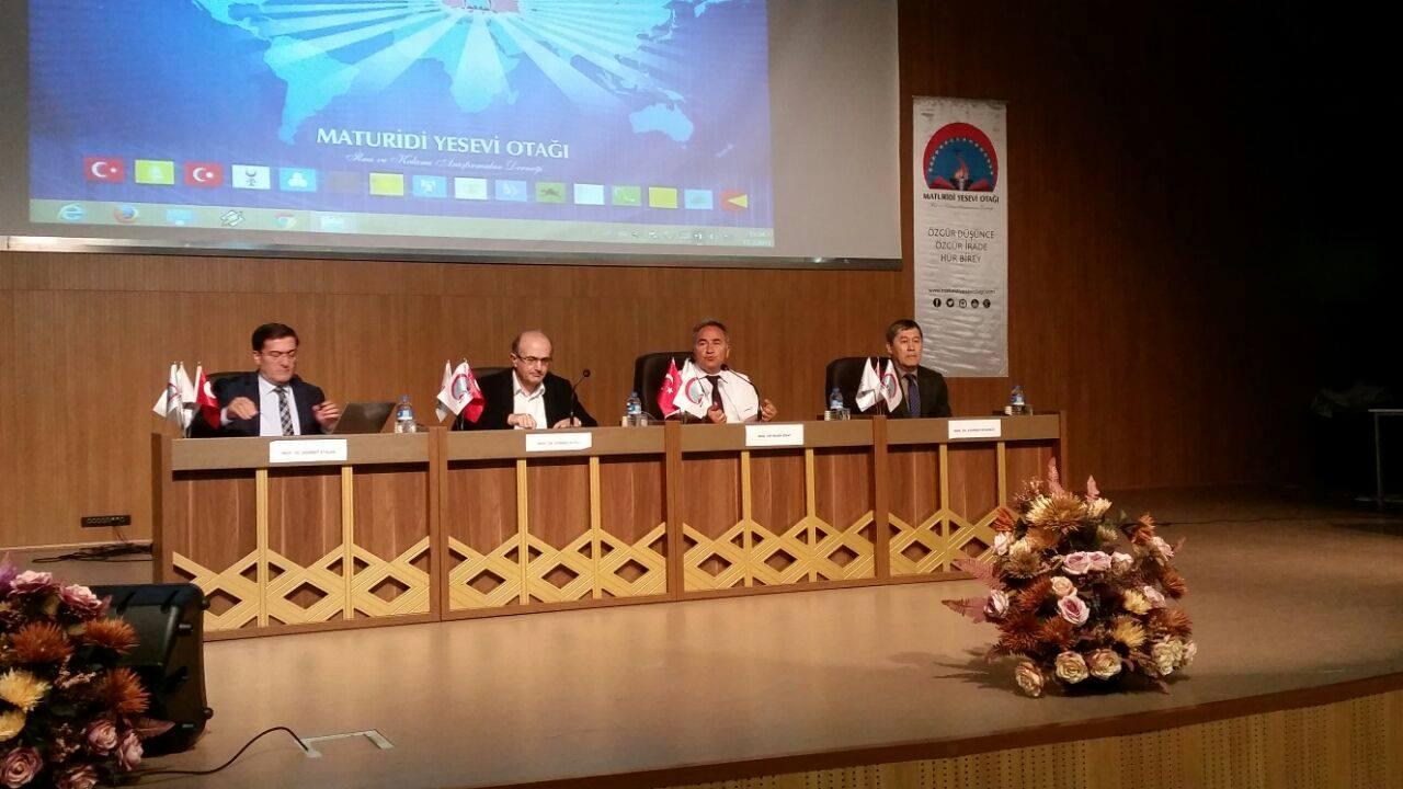 Ebu Hanife, Maturidi ve Ahmet Yesevi'de Ortak Değerler Paneli - Safranbolu