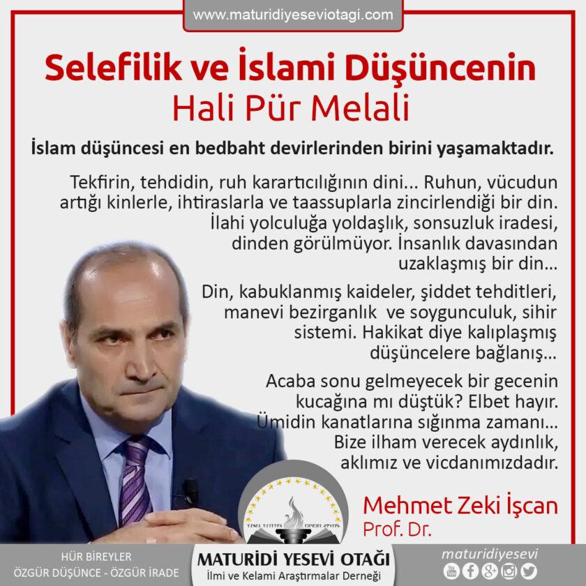 selefilik ve islami düşüncenin hali pür melali
