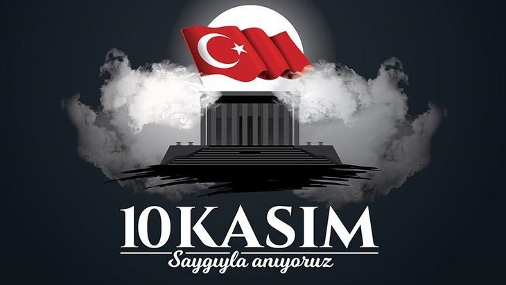 Atatürk Saygıyla anıyoruz